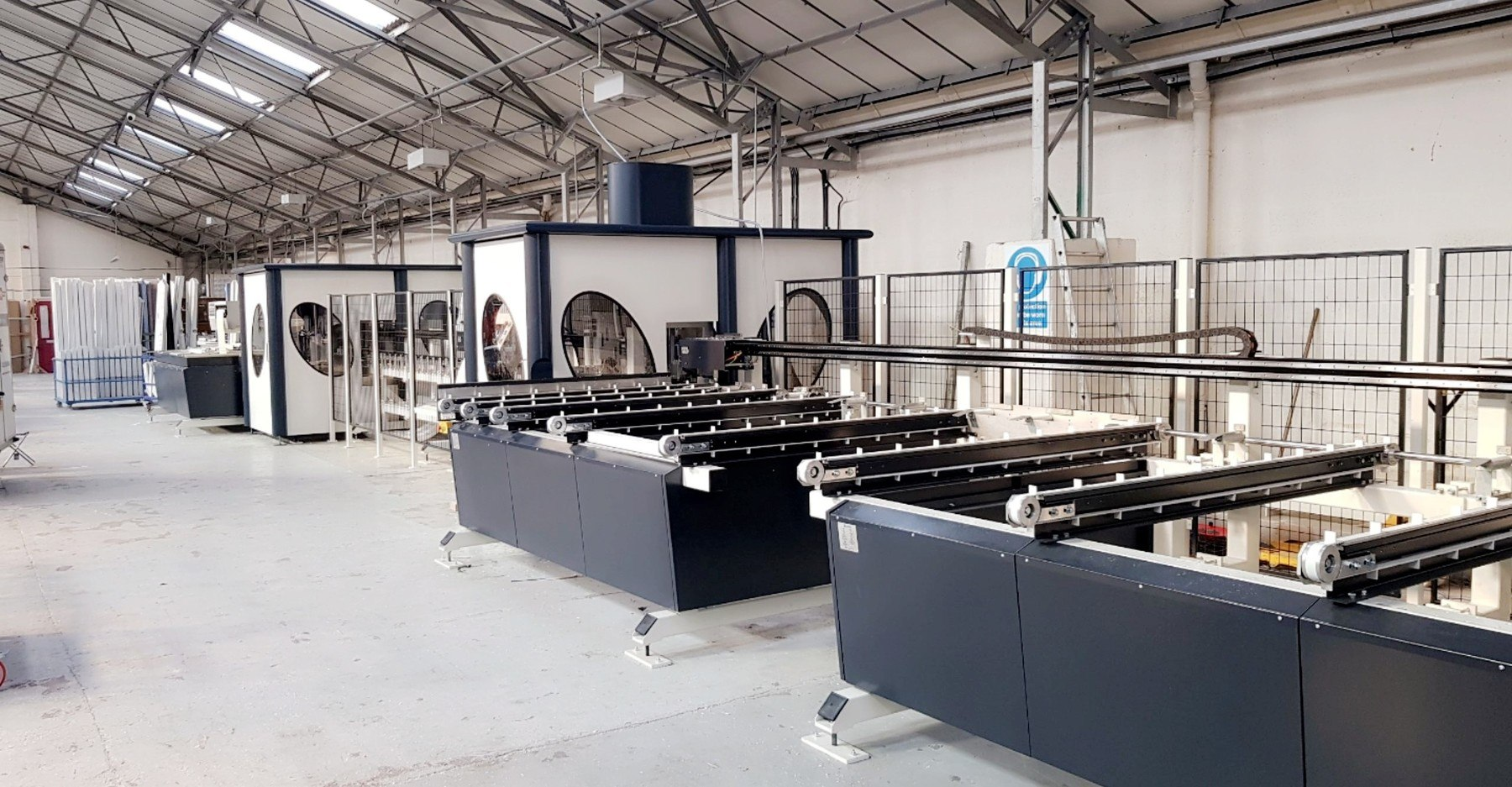 Supercut cutting and machining centre at Central
