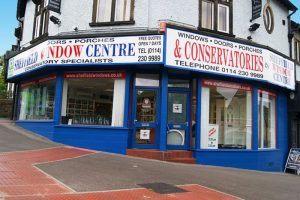sheffield window centre showroom